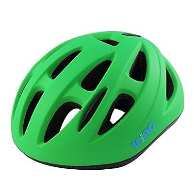 Wag Sky Baby Helmet Size S Matt Green Finish (Junior)/Helmets Helmet Sky Boy Size XS Green Finish Matt (Junior Helmets) by WAG