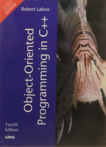 Object Oriented Programming in C++ 4 Edition price comparison at Flipkart, Amazon, Crossword, Uread, Bookadda, Landmark, Homeshop18