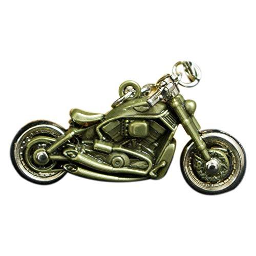 Designer-stil Anhänger (Schlüsselbund Kreative Harley Stil Motorrad Modell Metall Schlüsselanhänger Anhänger Personalisierte Schlüsselanhänger)