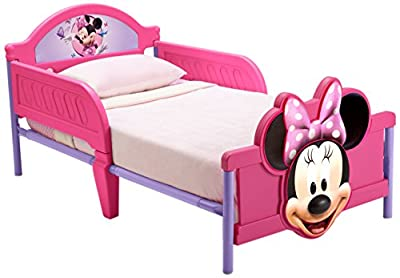 Cama infantil Minnie Mouse Disney. 140cms x 70cms. 12BB86682MN. NO INCLUYE EL COLHÓN from DELTA