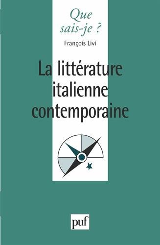 Littérature italienne contemporaine