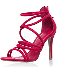 Zapatos para mujer Sandalias altas de tacón fino de fiesta en verano