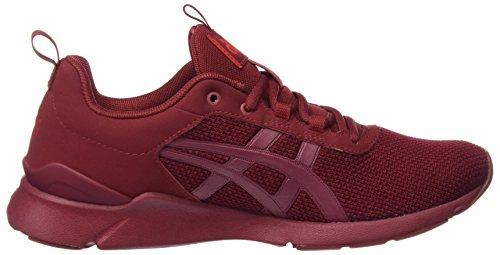 Asics Gel Lyte Runner, Chaussures de Course Mixte Adulte Rouge (Burgundy/Burgundy)