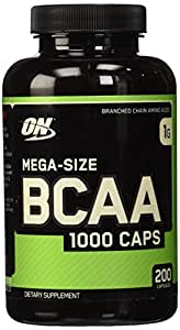 Optimum Nutrition BCAA 1000 Caps- 200 ct by Optimum Nutrition