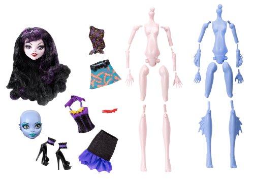 Mattel Y6610 - Monster-High Create-A-Monster Starter Set, Vampir und (Für Barbie Perücken Erwachsene)