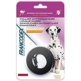 Francodex - Francodex Collier anti-parasitaire grand chien - Noir