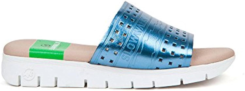 Sneaker Zapatilla Mujer Sanvi-W Kermit Vaquero Slowwalk