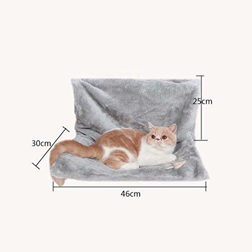 Cálido y acogedor cama para mascotas y gatos – fuerte y duradero hamaca...