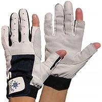 BluePort Segelhandschuhe aus Leder - 2 Finger frei