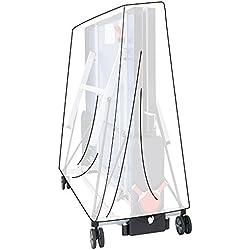 WOLTU GZ1165tp Housse de Protection pour Table de ping-Pong résistant à l'eau 182x160x55cm,Transparent