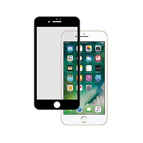 Pellicola di vetro temperato Copertura Total 3d per iphone 7Plus nero
