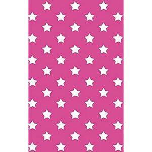 i.stHOME Klebefolie Sterne pink - Stars - Selbstklebende Folie 45 x 200 cm