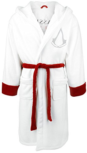 Assassins-Creed-Logo-Bath-robe-white-red