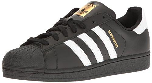 adidas Herren Superstar Foundation Sneakers, Schwarz (Core Black/Footwear White/Core Black 0), 44 EU