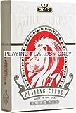 David Blaine Blanc Lions Série B jouer Cards-red