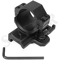 Montaje de liberación rápida d=30 mm *fabricado de aluminio / Para rieles Weaver y Picatinny / Anillo de montaje para mira telescópica RedDot