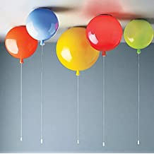 SDKKY Bunte Ballons Kinderzimmer Deckenleuchte, Weiß