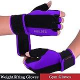 Fitness Handschuhe Trainingshandschuhe,für Bodybuilding Crossfit Training,Damen und Herren