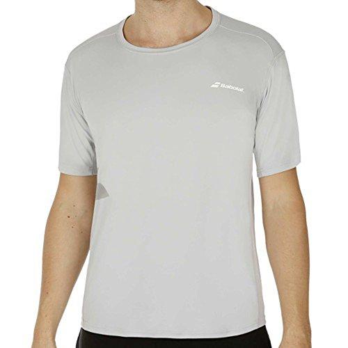 Babolat Herren Match Core Flag T-Shirt Boy Oberbekleidung, Grau, 140 Preisvergleich