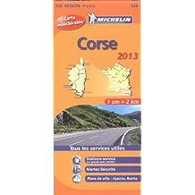 Carte REGION Corse 2013 n°528