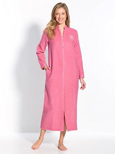 Thermovitex - Robe de chambre zippée en moll Rose