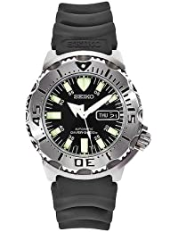 Seiko Men's SKX779 K3 Wrist Watch, Black Rubber Strap