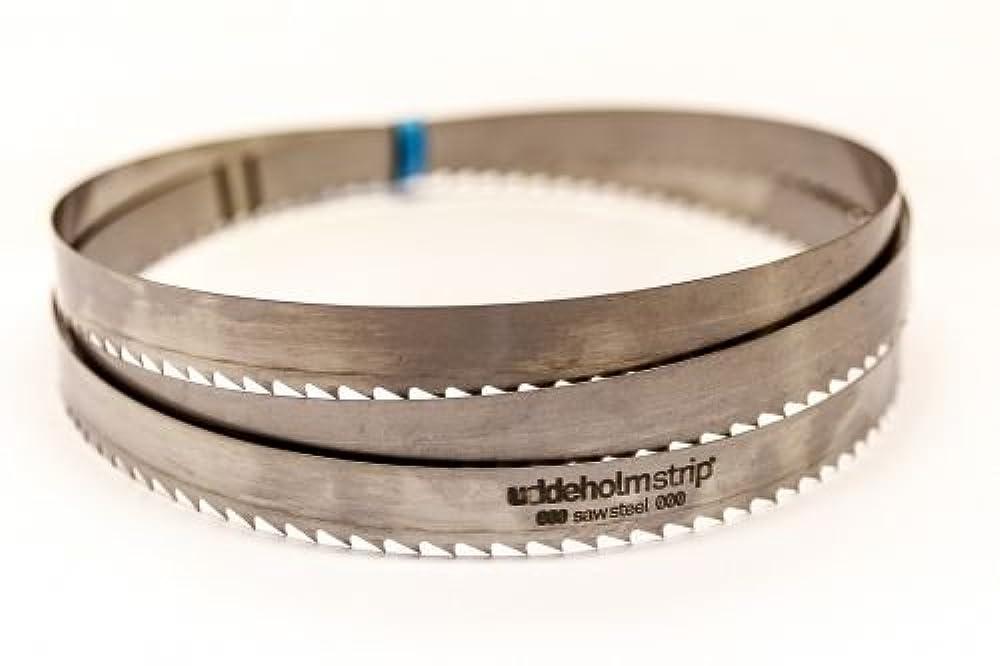 SBM Uddeholm Holzsägeband 4230 x 25 x 0,7 mm mit 8 mm Zahnabstand Bandsägeblatt Schneidwerkzeuge