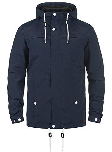 REDEFINED REBEL Maddox Herren Jacke Übergangsjacke mit Kapuze aus hochwertiger Materialqualität, Größe:M, Farbe:Navy