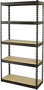 Camel Tough HTC-CT254 5-Shelf Rack, Multi-Colour, 86.5 x 35.5 x 183 cm