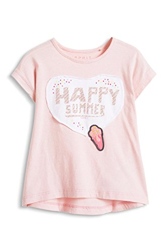 ESPRIT Baby - Mädchen T-Shirt Happy Summer TS, Gr. 68, Rosa (LIGHT PINK 690)