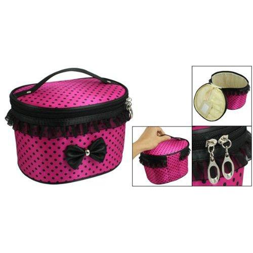 borse a tracolla - TOOGOO(R) Carino Fox Gufo Borsa a tracolla Messenger Pu Borsello in pelle Satchel Handbag - cachi Nero, rosa