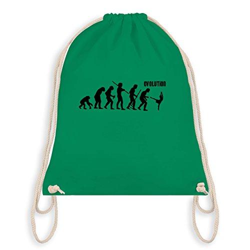(Evolution - Modern Dance Evolution - Unisize - Grün - WM110 - Turnbeutel & Gym Bag)