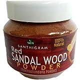 Santhigram Natural Red Sandal Wood Powder- 100 GMS(Raktha Chandan)