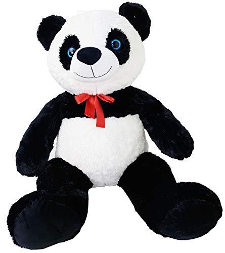 enorme Peluche Panda Oso Panda 80 cm Osito de peluche sentado