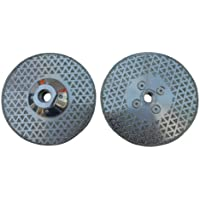 """ATS 5"""" 125mm x M14 Flange Electroplated Diamond Marble Vanity Blade"""