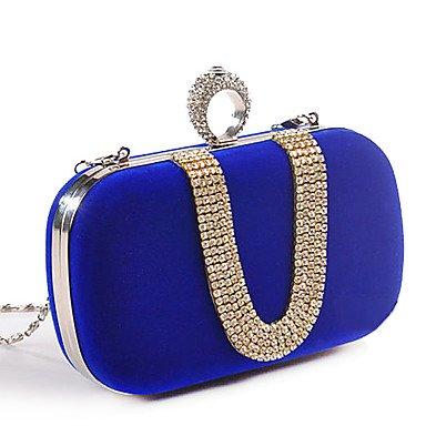 SUNNY KEY-Pochette e Clutch@Donna Poliestere Serata/evento Borsa da sera Blu / Rosso / Nero / Fucsia , royal blue royal blue