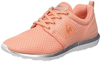 Le Coq Sportif Dynacomf W Feminine Mesh/Metallic, Sneaker Donna, Arancione (Papaya Punch/Old SIL Orange), 37 EU