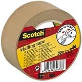 Scotch Ruban Papier Kraft Non Siliconé 50mm x 50m