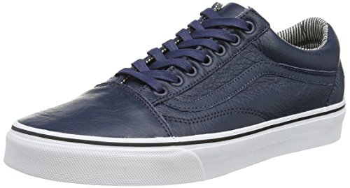 Vans Old Skool, Baskets Basses Mixte Adulte Bleu (Dress Blues/Stripes)