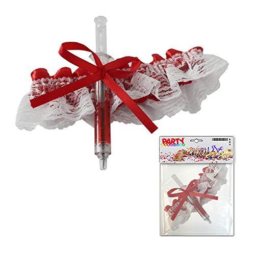 rumpfband rot-weiß, mit Spritze ()