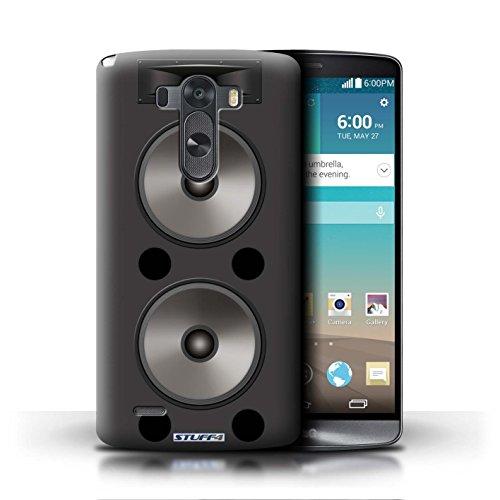 Kobalt® Imprimé Etui / Coque pour LG G3/D850/D855 / Amplificateur conception / Série Haut-Parleur dessin Double
