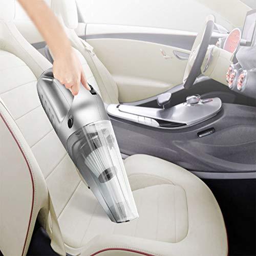 HHY6 Auto-Staubsauger, 12 V, 120 W, nass/trocken, 2500 PA, viel stärkere Saugleistung, tragbare HEPA-Filter, Bürste, weicher Schlauch, Harter Schlauch, Tragetasche. -