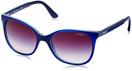 Vogue Gradient Square Women'S Sunglasses - (0Vo5032S22621454|53. 9|Pink Gradient Brown) image