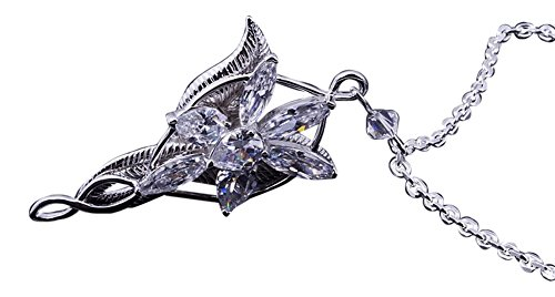 señor de los anillos arwen evenstar collar colgante de plata [version:x5.8] by DELIAWINTERFEL
