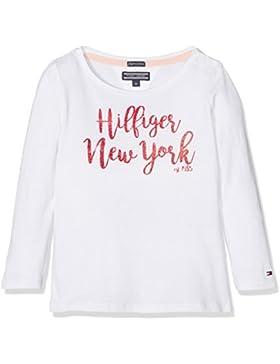 Tommy Hilfiger Mädchen Langarmshirt Ame Girls Iconic Cn Knit L/S