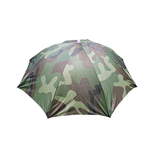 VECDY Cap Damen/Herren Baseball Faltbare Neuheit Sonnenschirm Sonnenhut Golf Angeln Camping Kostüm Multicolor Mode Visier Hut