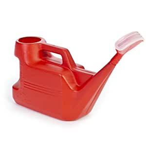 Ward GN009RED 7L Weed Control Watering Can with Spray Head Rose - Red