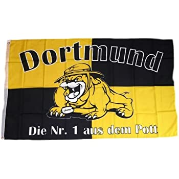 Stadtwappen Fahne Dortmund F8