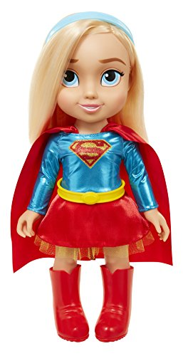 DC - Supergirl Puppe, 35 cm (Catwoman Outfit Uk)