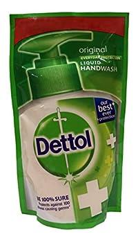 Dettol Liquid Handwash - Original, 175ml Pouch